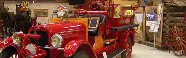 Exhibit at Oklahoma State Firefighters Museum