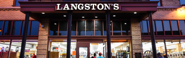 Exterior Entrance of Langston