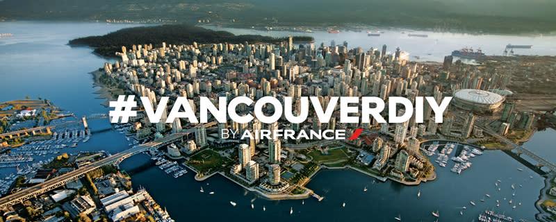 Vancouver DIY Air France