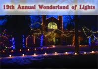 The Wonderland of Lights- Lansing Potter Park Zoo