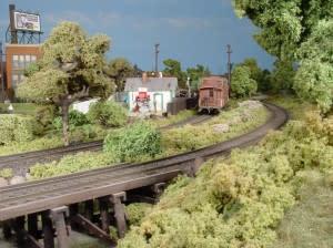 Lansing Train Station Model