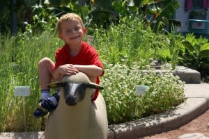 Smiles abound at the 4-H Children's Garden at MSU