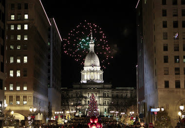 Silver Bells in the City Lansing Michigan Festival