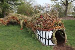 Willow Dragon at MSU Hort Garden