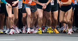 On your mark, get set go - It's the Capital City River Run Weekend of Races! Good luck runners!