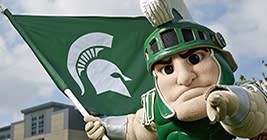 Being a Spartan fan is so great, you're selling yourself short just watching the game at home on TV!