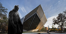 The Broad has always been cool, but it got cooler when Batman came to town.