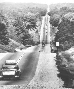 1955 Clare County. This is what heading up north used to look like. ;)