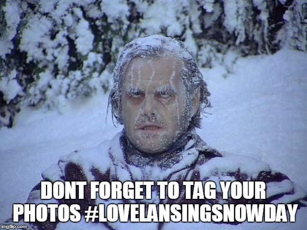 Snow Jack Nicholson
