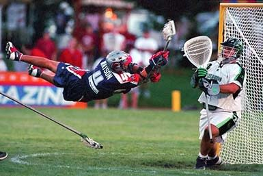 Lacrosse is a sport on the rise and you might want to familiarize yourself with it!