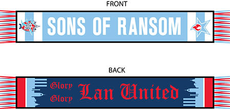 This is the cool Lansing United scarf you can give to your friend or family member. Trust me, they'll love it.