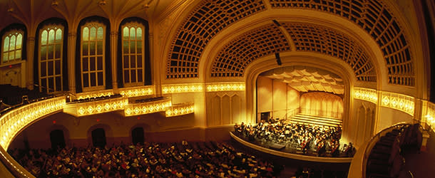 Performance at the Macky Auditorium