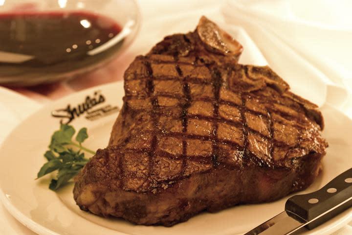 Steak dish from Shula's Steakhouse in Houston