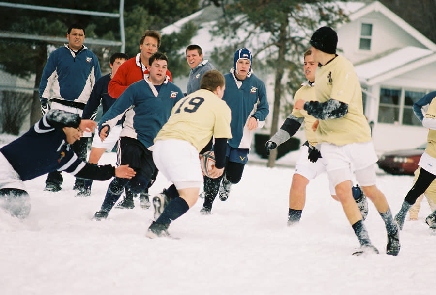 The Snow Bowl Winterval Rugby Game