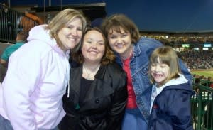 Enjoying Parkview Field's 2009 Inaugural Game
