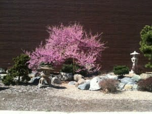 Japanese Friendship Garden located at 303 E Main St was a gift from Fort Wayne's sister city, Takaoka, Japan