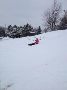 Smaller hills are also fun!