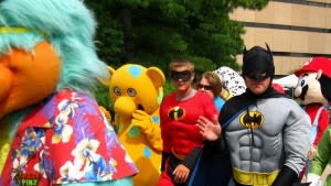 See Batman, Robin, the Fort Wayne Children's Zoo mascot and a variety of other friendly figures in the Character Parade!