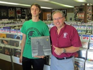 Wooden Nickel Music owner Bob Roets (right) will take care of you.