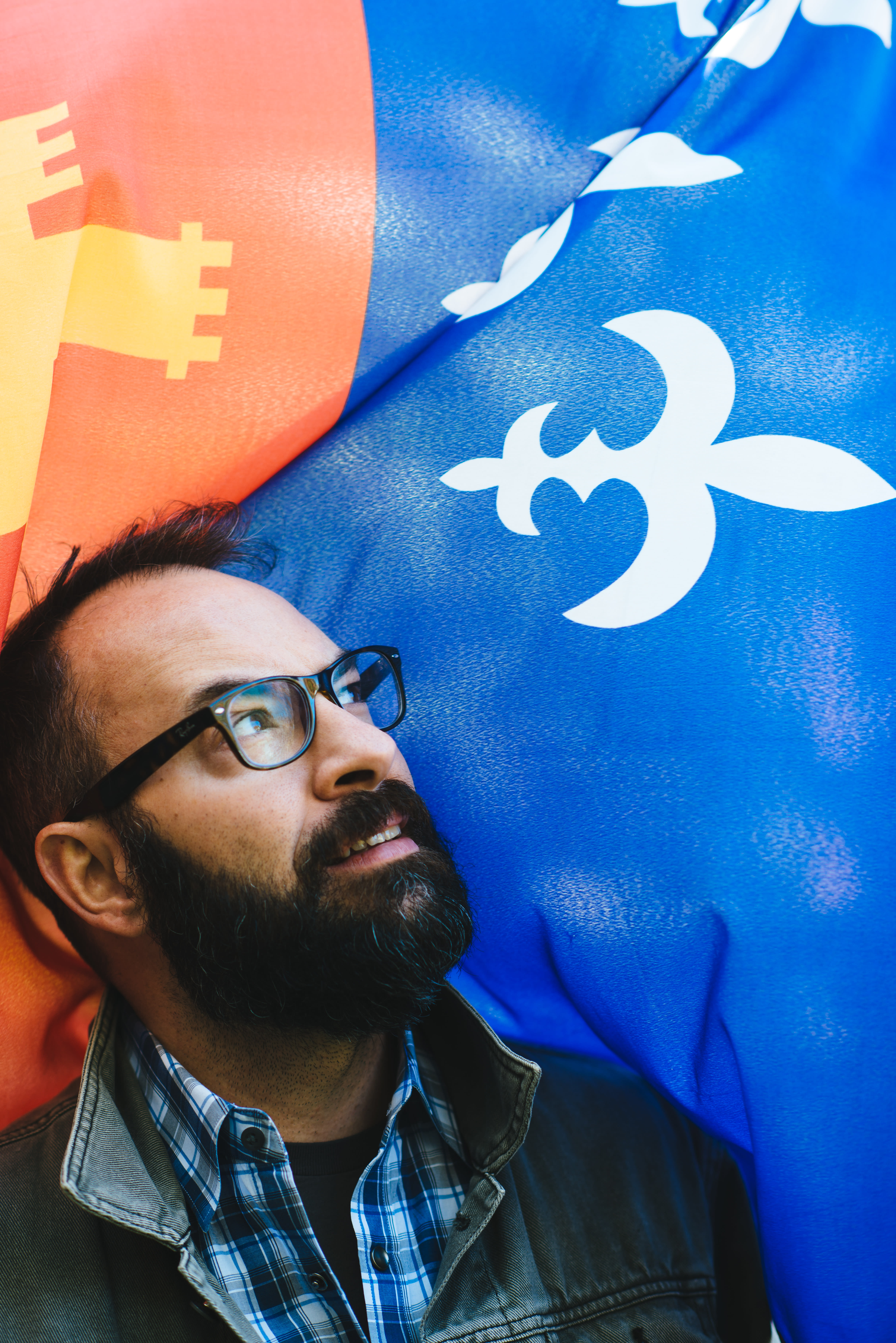 Acadian Flag - Roddie Romero
