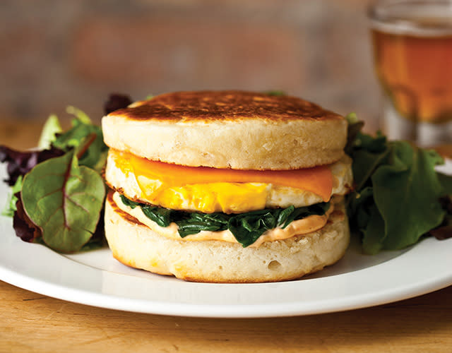 Breakfast Sandwich at The Cooper