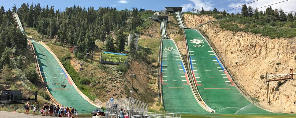 Ski Jumps at Utah Olympic Park