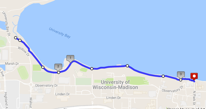 5k Lakeshore Path