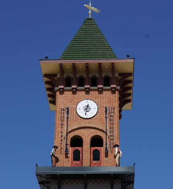 Grapevine Glockenspiel Clock Tower
