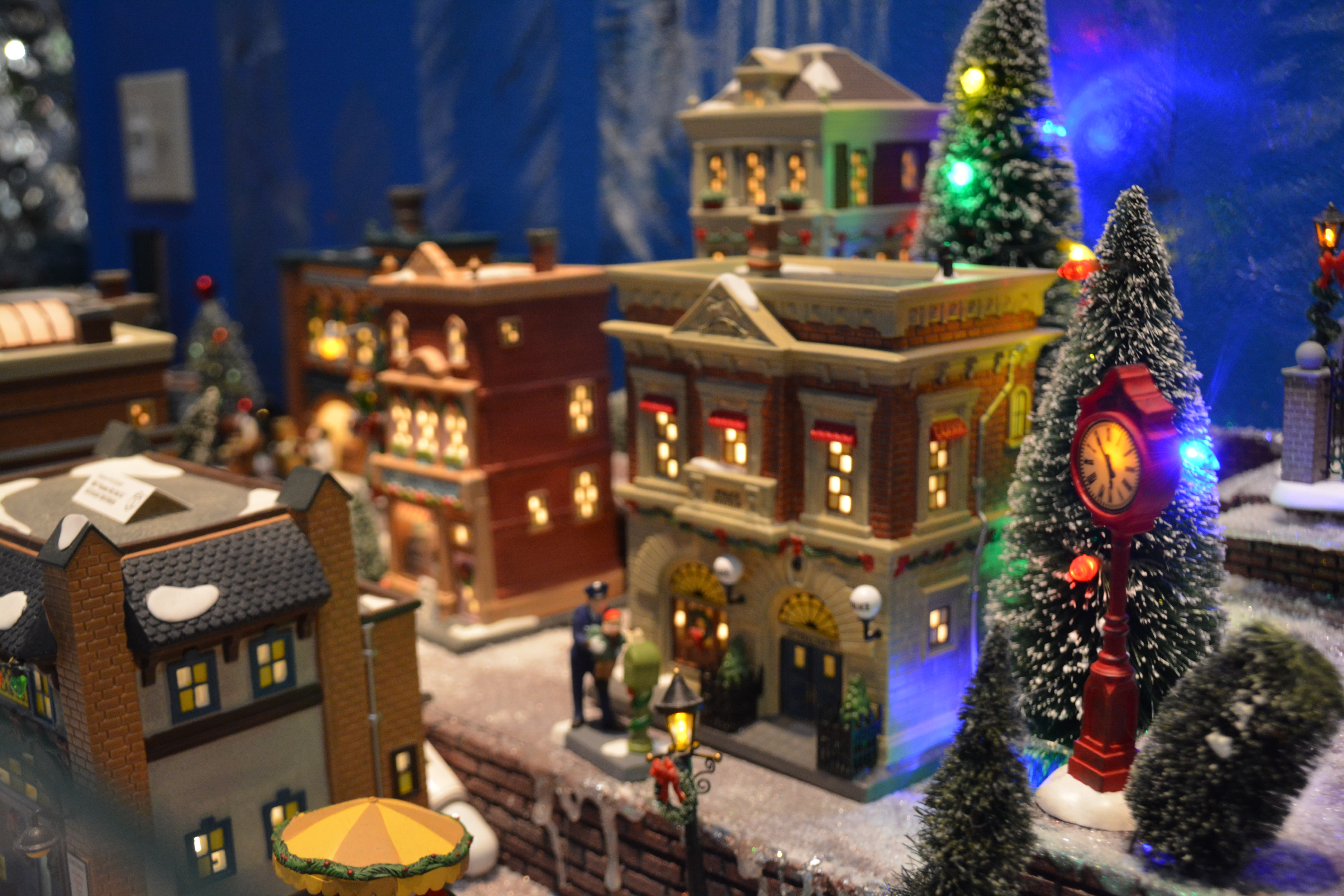 The Beautifully Built Christmas Villages at Good Things for All Seasons
