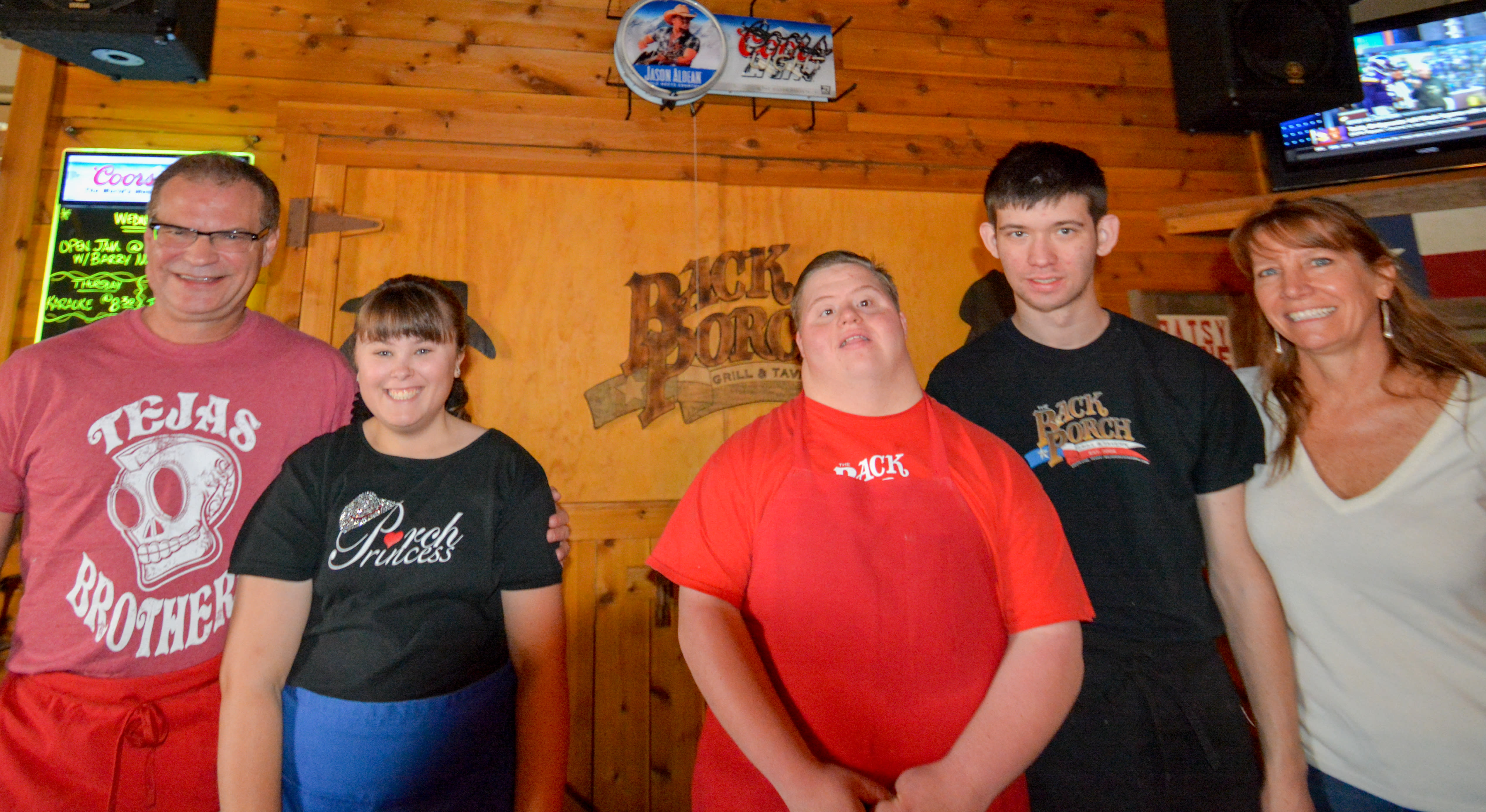 Robert and Wendy along side their staff members Alyssa, Chase and Connor