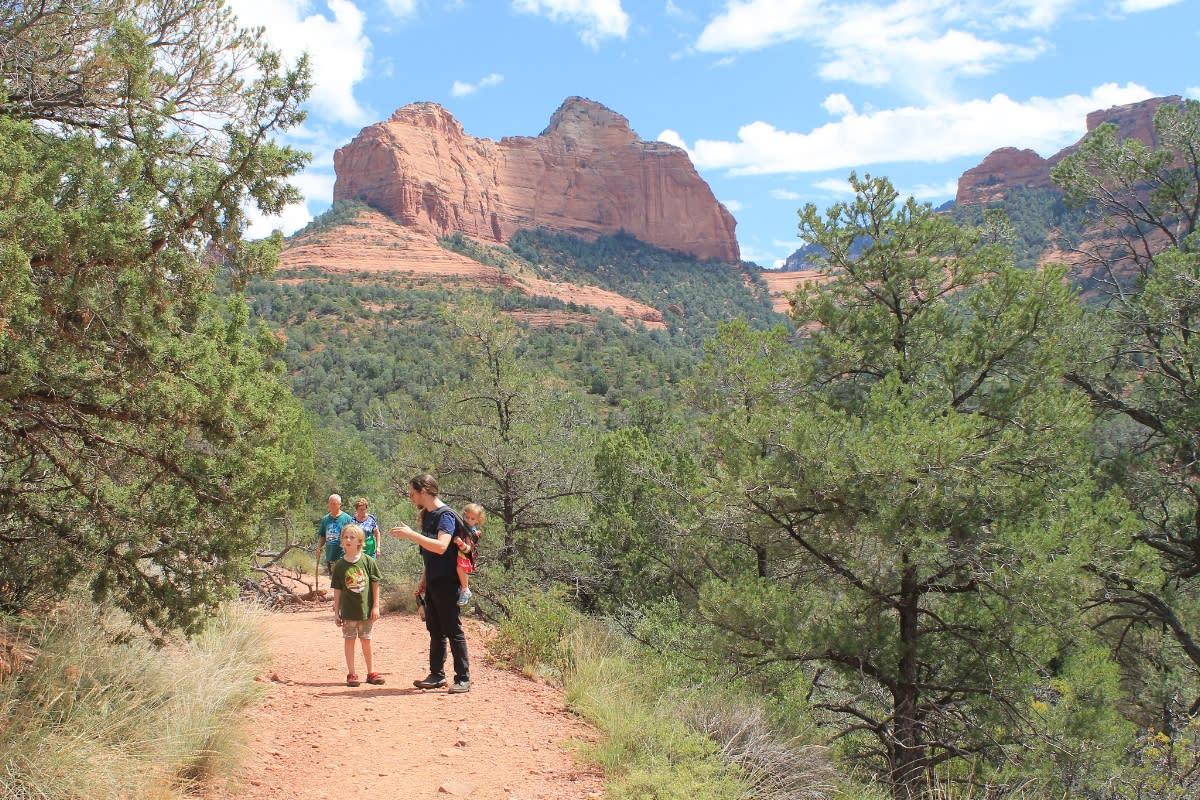 hiking sedona huckaby trail