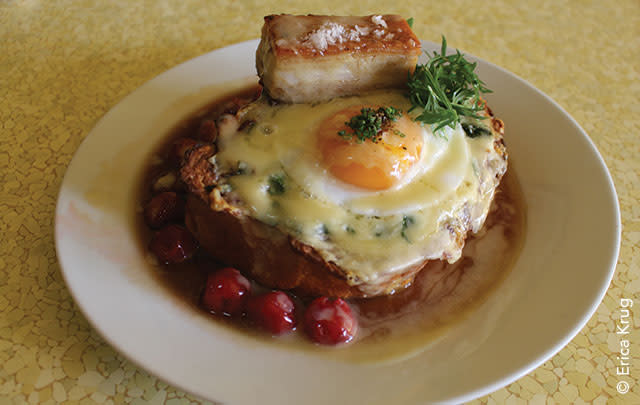 Savory French Toast: Cow and Quince
