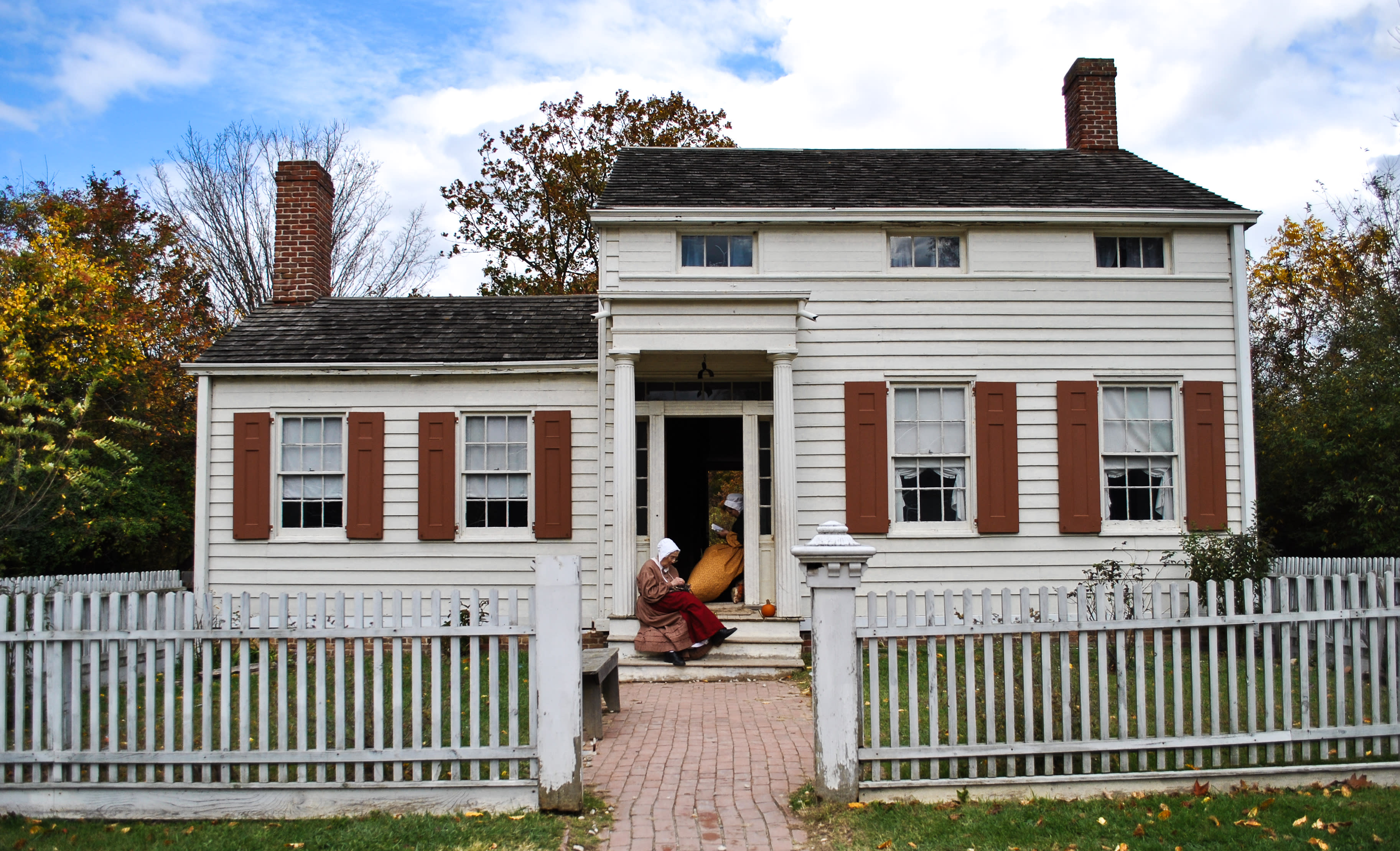 Old Bethpage Village Restoration - Photo by Carol Beckerman