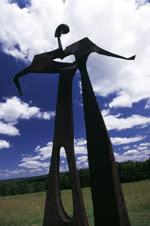 Griffiss Art Sculpture in park