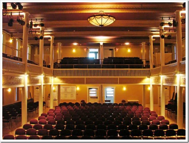 Inside the Clayton Opera House