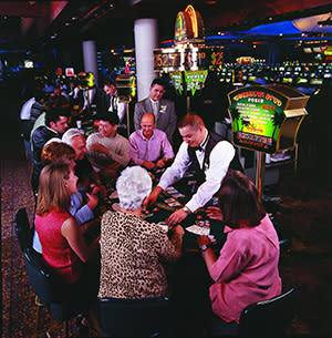 Interior image of Seneca Niagara Casino
