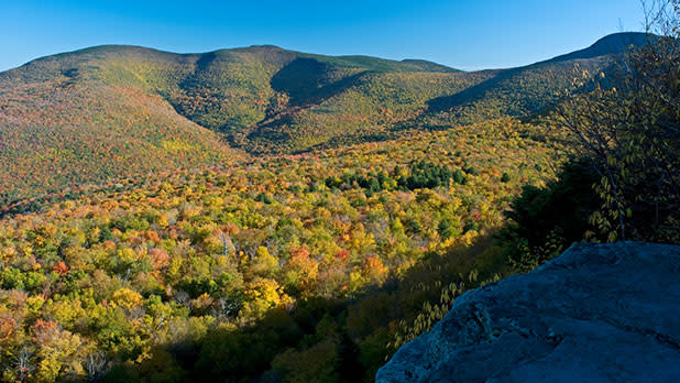 Fall in the Catskill Mountains