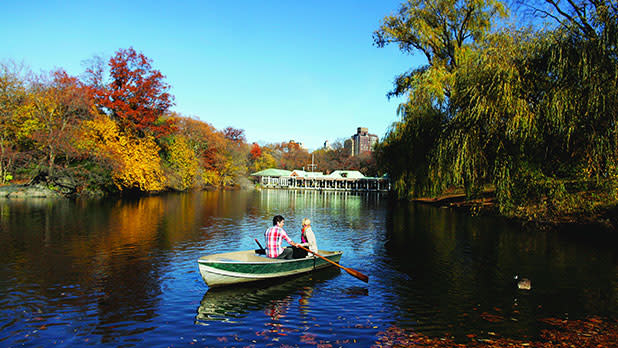Fall in Central Park - Photo Courtesy of NYC & Co