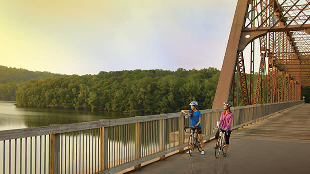 Biking North CountyTrailway - Photo Courtesy of Westchester County