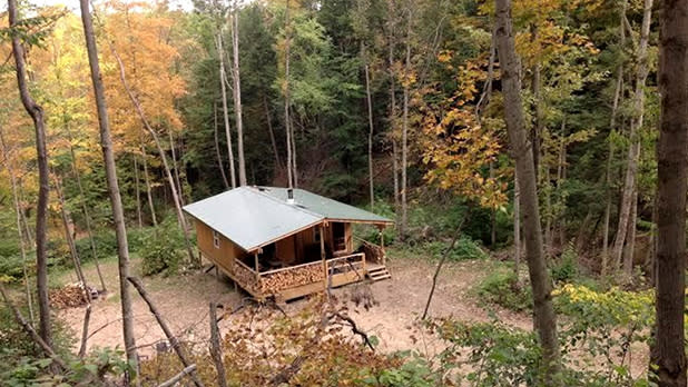 Glamping Cabin in Letchworth