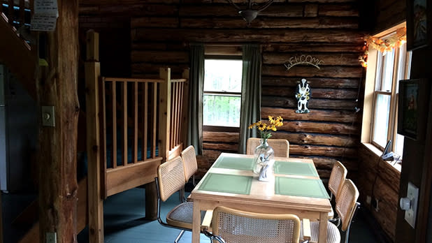 Log Cabins in Cooperstown