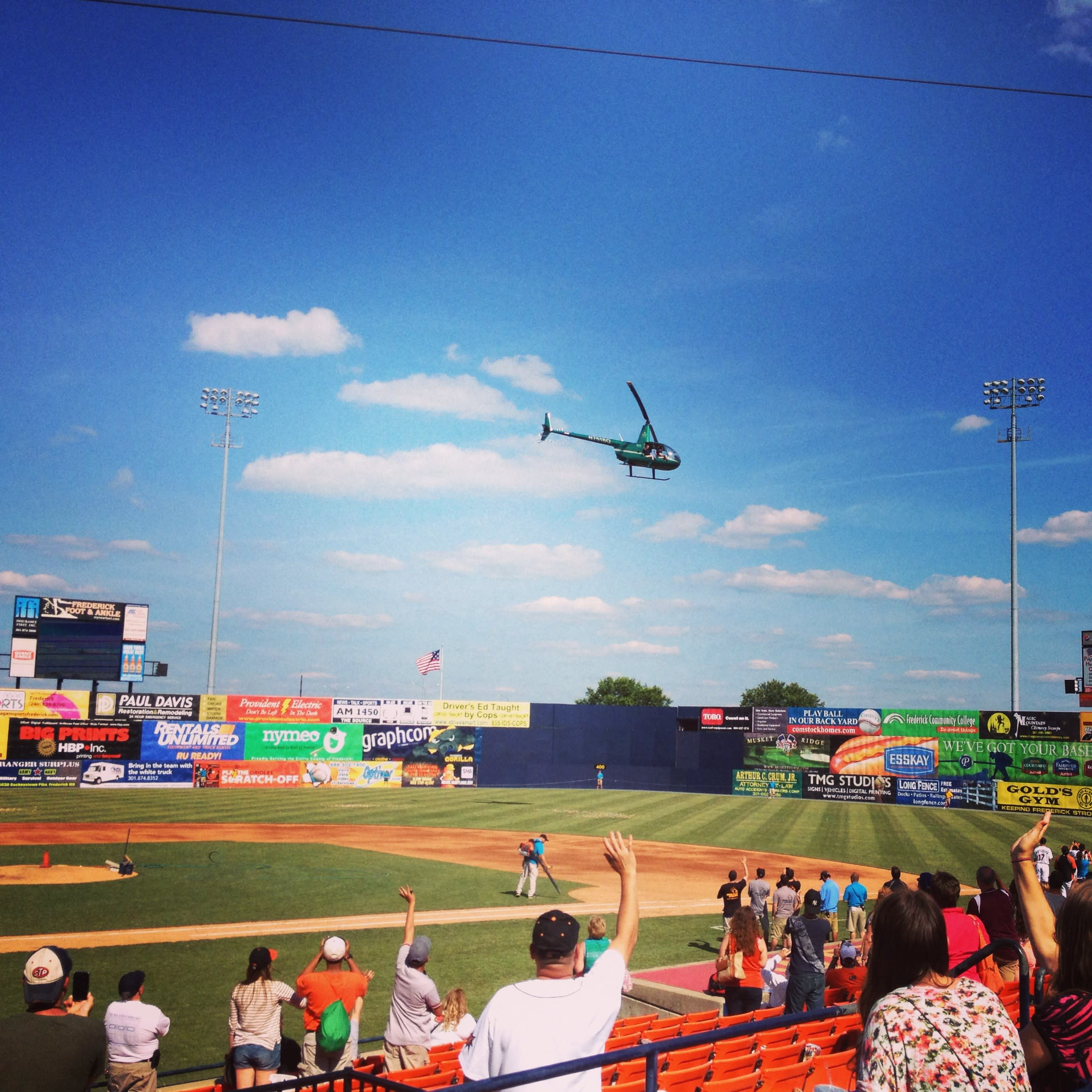Frederick Keys Helicopter Candy Drop