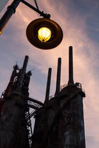 Bethlehem Steel Campus Street Light