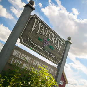 Vynecrest part of the Lehigh Valley Wine Trail