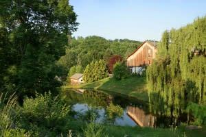 Glasbern, a historic farm