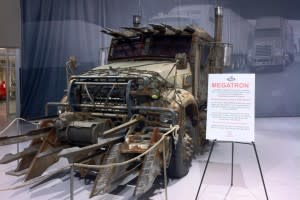 Megatron at the Mack Truck Museum