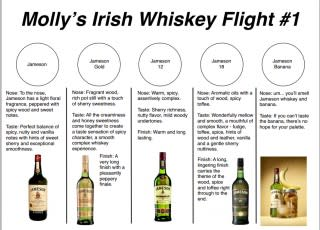 Irish Whiskey Class