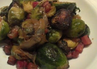 Brussels sprouts from Emeril's Italian Table