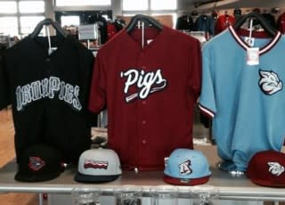 New IronPigs Uniforms