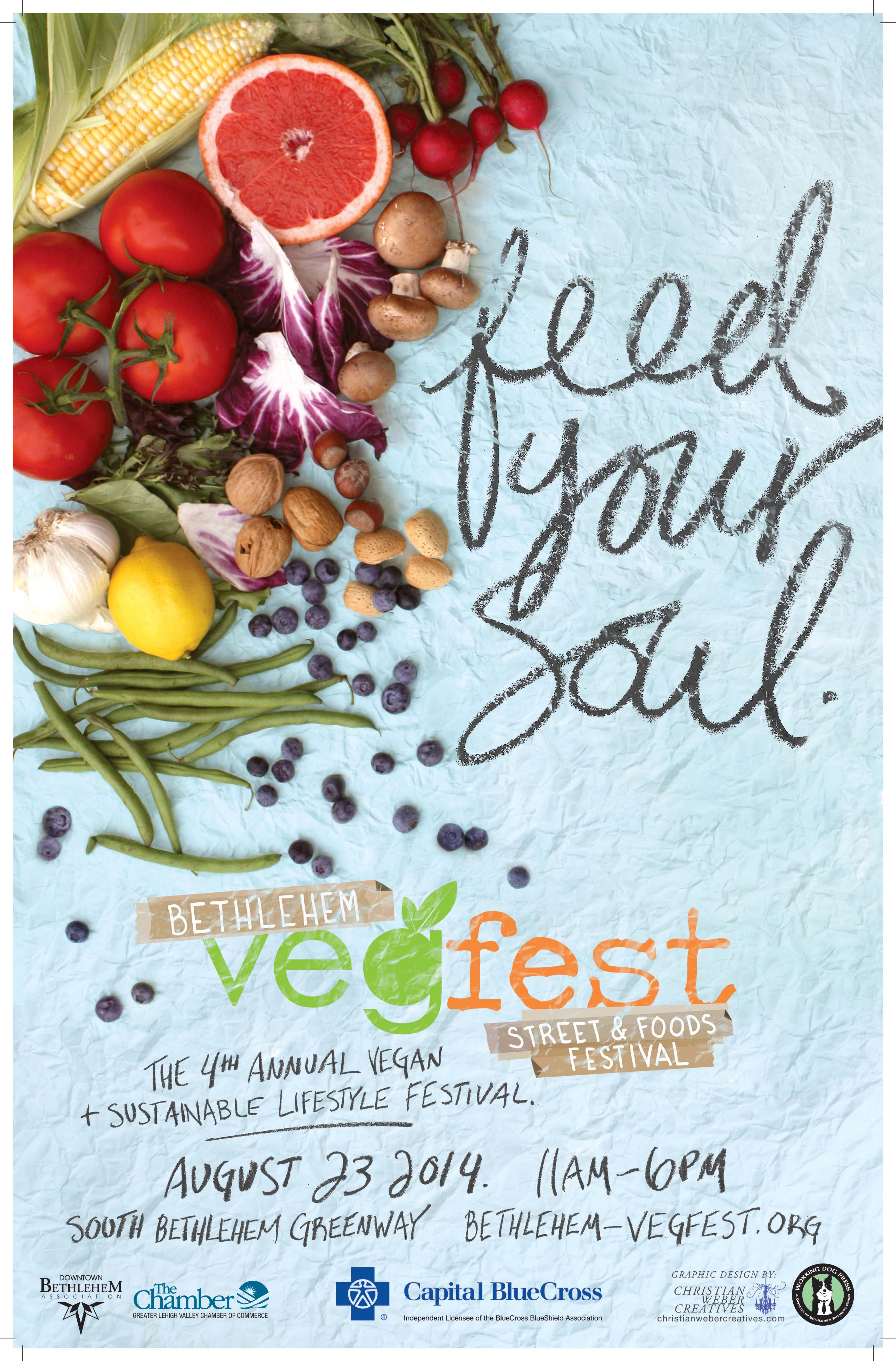 2014 VegFest Poster